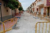 Comienzan las obras de renovación de la calle Venezuela de Las Torres de Cotillas