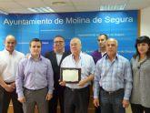 La asociación nacional Okinawa Goju Riu Karate Do España, distingue al Ayuntamiento de Molina de Segura