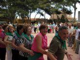 Mil doscientos mayores se reúnen en el Campamento de Cáritas de los Urrutias