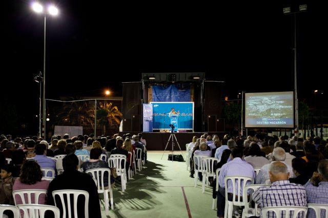 Cientos de mazarroneros apoyan el proyecto de Blaya - 1, Foto 1