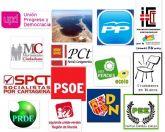 Catorce candidaturas aspiran al pleno del Ayuntamiento de Cartagena