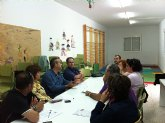 Otálora se reúne con representantes de las AMPAS de primaria y secundaria del municipio