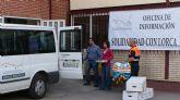 La Oficina de Información y Solidaridad con Lorca ha canalizado las ayudas de más de 1.000 lumbrerenses durante la última semana