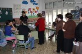 La participación en las elecciones municipales y autonómicas en Totana asciende al 57,98 por ciento, a las 18:00 horas