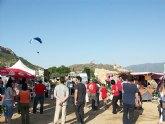 �xito en la concentraci�n de parapentes 2011