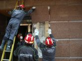 Los Bomberos de Cartagena reciben la Cruz de Plata de la Orden Civil de la Solidaridad Social