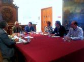 Barreiro entrega en Lorca las ayudas recabadas durante la Noche de los Museos