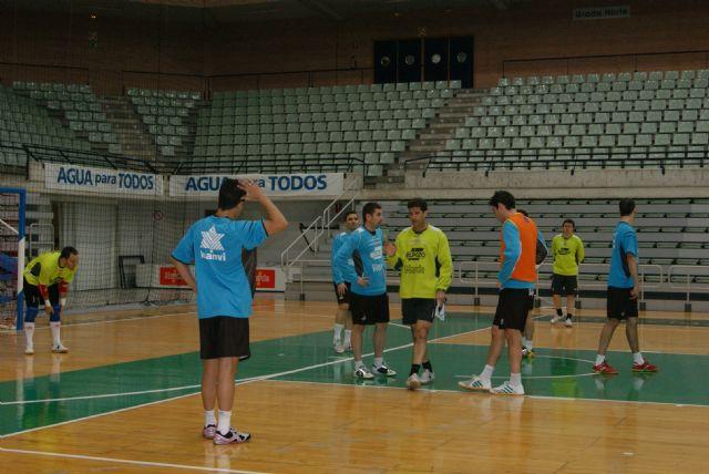 La plantilla de ElPozo Murcia FS seguirá entrenando las dos próximas semanas - 1, Foto 1