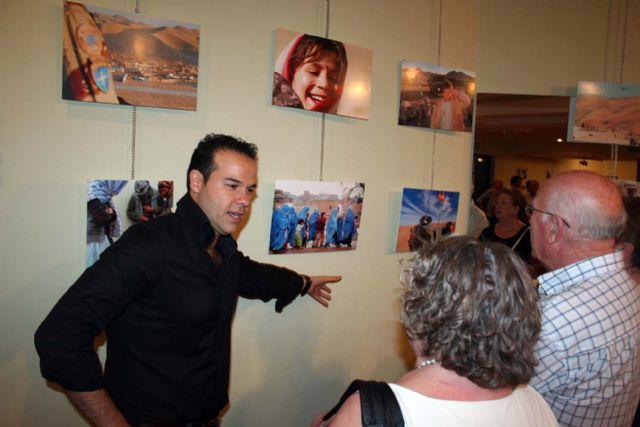 Inaugurada en el Centro Cultural Infanta Elena la exposición fotográfica Un soldado en Afganistán, de Jesús Martínez Marín - 1, Foto 1