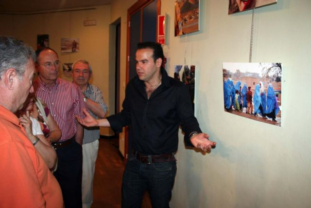 Inaugurada en el Centro Cultural Infanta Elena la exposición fotográfica Un soldado en Afganistán, de Jesús Martínez Marín - 3, Foto 3