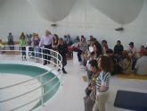 Los usuarios del Servicio de Apoyo Psicosocial participan en una salida al Centro Educativo de Medio Ambiente 'CEMACAM'