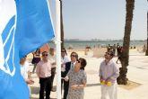 Cartagena acoge la mitad de las banderas azules concedidas a la Región