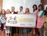 El ayuntamiento de molina de segura y la fundación kellogg  entregan el premio del concurso 'soy el cole que mejor desayuna de molina'