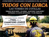 Las Torres de Cotillas se vuelca mañana con Lorca con un concierto solidario