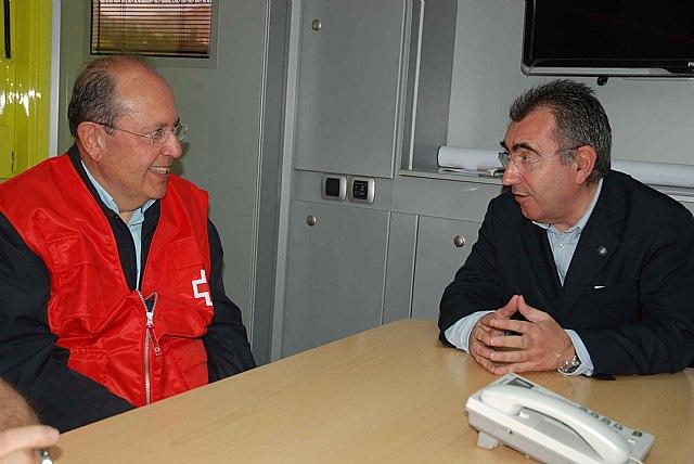 La Comunidad y Cruz Roja coordinan la atención a los afectados en Lorca - 1, Foto 1