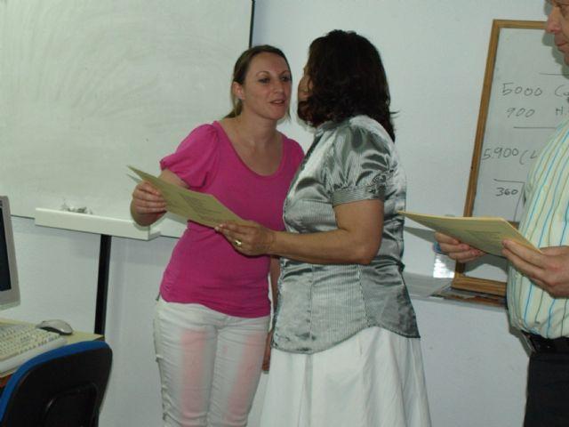 Concluye el curso formativo gratuito Iniciación a Office 2007 dirigido a comerciantes, autónomos y desempleados de Alguazas - 1, Foto 1