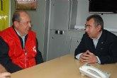 La Comunidad y Cruz Roja coordinan la atención a los afectados en Lorca