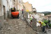 Comienzan las obras de acondicionamiento de las traseras de la Plaza Vieja