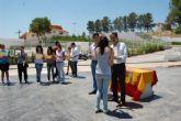 Los jóvenes del programa 'SJ 3' se reunieron con los de Águilas y Alguazas