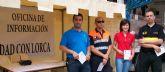 La Oficina de Solidaridad con Lorca se traslada al mercado semanal de Puerto Lumbreras