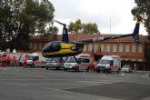 'Bomberos en Acción' se entrena en Las Torres de Cotillas ante un posible seísmo