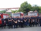 La Comunidad felicita a los servicios de emergencias y bomberos por el 'excelente trabajo y dedicación' en Lorca