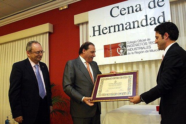 El diputado murciano Martínez Pujante, 'Colegiado de Honor' de los ingenieros técnicos industriales - 1, Foto 1