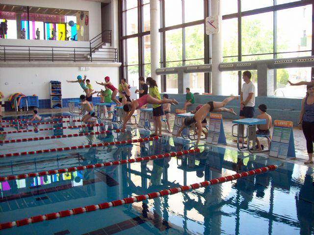 Más de 60 nadadores, de entre 5 y 16 años, han participado en la Competición Solidaria de Natación - 3, Foto 3