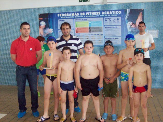 Más de 60 nadadores, de entre 5 y 16 años, han participado en la Competición Solidaria de Natación - 4, Foto 4