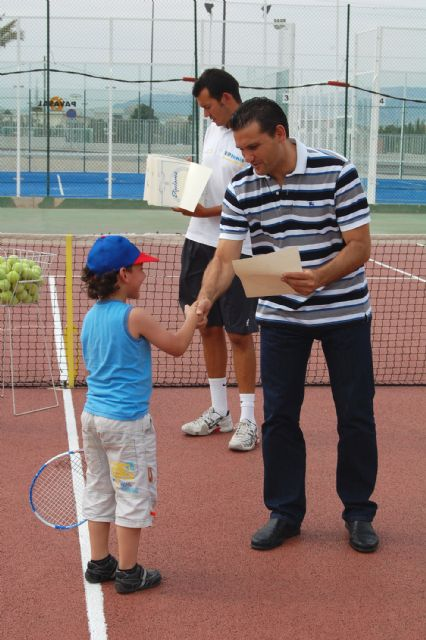 Los jóvenes jugadores de la Escuela Municipal torreña de tenis, diplomados - 3, Foto 3