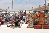 Más de un centenar de vecinos juran bandera en La Aljorra