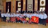 El Alcalde recibe al Real Murcia con motivo de su ascenso a Segunda
