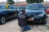La Guardia Civil desmantela una organización criminal dedicada a la sustracción de vehículos de gama alta