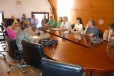 El Comité de Ayuda a Lorca se reúne con representantes del Ayuntamiento de Lorca