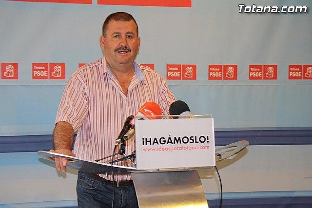Valoración PSOE Totana de la campaña electoral y resultados en las elecciones de mayo 2011, Foto 1
