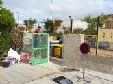 El colegio torreño 'San José' renueva su vallado exterior