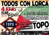 Bajo el lema 'Todos con Lorca' el Encuentro Musical Ramblues congregará a diversos grupos locales y a la mítica banda rockera TOPO