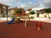 La calle Amparo Barrio de Las Torres de Cotillas luce un renovado jardín