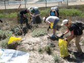 Voluntarios de SABIC colaboran  en la limpieza y preservación del Parque Regional de las Salinas de San Pedro