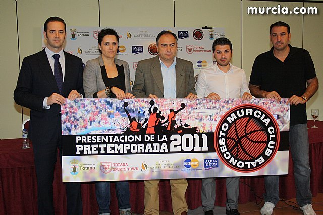 The Basketball Club Murcia will make his preseason Totana stage from 28 August to 4 September
