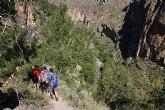 La Ruta del Cañón de Almadenes recibe a medio centenar de senderistas de Santomera