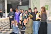 La exposición colectiva de arte contemporáneo 'Tiempo habitado' se inauguró con la presencia de los artistas