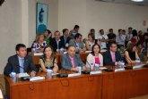 El candidato popular, Alfonso Fernando Cer�n Morales es nombrado alcalde de Alhama en la nueva Corporaci�n municipal formada por 21 concejales