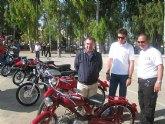 Campos participa en la inauguraci�n de los actos conmemorativos del primer D�a Nacional de la Moto