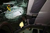 Detenidas dos personas por lanzar piedras a vehículos que circulaban por la autovía A-30