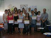 Entrega de diplomas del curso de formación para cuidadores de personas dependientes