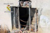 La Guardia Civil detiene en Alhama de Murcia a cuatro personas por robos en dos explotaciones agr�colas y ganaderas
