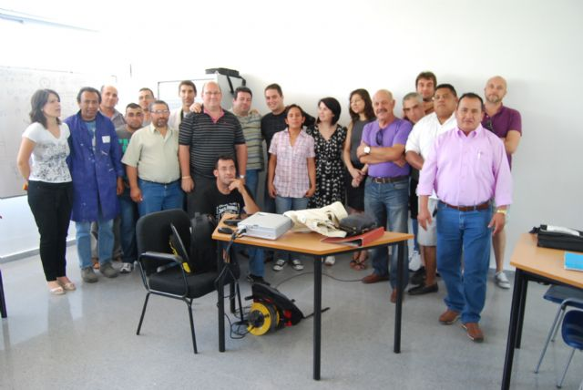 "Closing the course of ""Basic maintenance of buildings"""