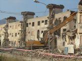 Última demolición en el barrio de San Gil