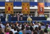 Finaliza el curso escolar, con la tradicional entrega de diplomas y orlas a los alumnos del IES Rambla de Nogalte